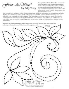 Easy hand quilting patterns ideas ideas for 2019 Easy Hand Quilting, Jelly Roll Quilt Patterns, Machine Quilting Patterns, Easy Quilt Patterns, Embroidery Patterns Free, Free Motion Quilting, Vintage Embroidery, Sashiko Embroidery, Hand Embroidery