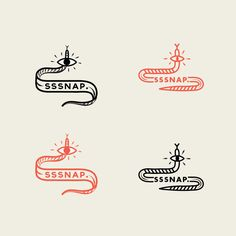 Corporate Identities (various) by Maaike Bakker, via Behance