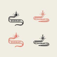 Corporate Identities (various) by Maaike Bakker, via Behance