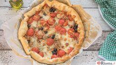 Vegetable Pizza, Pie, Vegetables, Cooking, Strudel, Desserts, Antipasto, Dinner Ideas, Collage