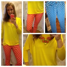 Our cute shopgirl.. Polka dot jeans $24.99 www.chicstyleutah.com on Facebook