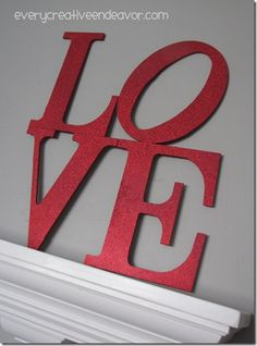 DIY Valentines day decoration