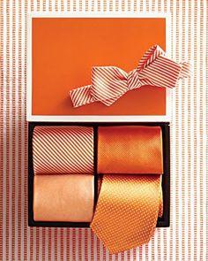 tangerine ties #PinPantone