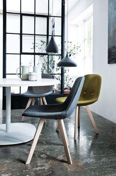 Eyes Wood Chair by Erik Jørgensen