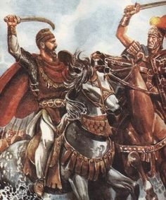 Illustrations of Dacia, Thracia & Phrygia Image Salvage) - Forum - DakkaDakka History Of Romania, Tribal Images, History Page, Man Of War, Roman Soldiers, Medieval World, 2017 Images, Ancient Rome, Old Things