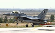 Pakistani Air Force F-16D Fighting Falcon.