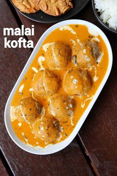 malai kofta recipe, malai kofta curry, creamy kofta balls curry with step by step photo/video. north indian curry with paneer balls in onion, tomato sauce. Pakora Recipes, Chaat Recipe, Paneer Recipes, Curry Recipes, Indian Veg Recipes, Indian Dessert Recipes, Malai Kofta Curry, Kitchen Recipes, Cooking Recipes