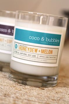 Honeydew and Melon Soy Candle http://www.harborcandlecompany.com I wonder if they sell this?