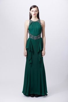 Badgley Mischka | Pre-Fall 2012 Collection | Vogue Runway
