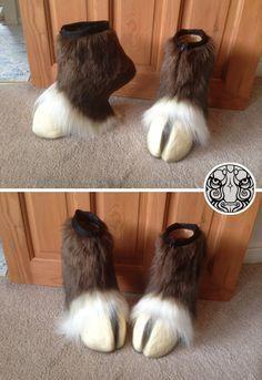 Love the way the fur disguises the mini heel!