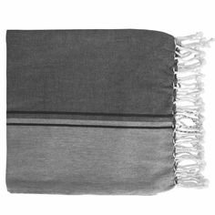 DilaraTurkish Towel 100x200cm Black