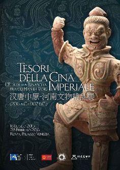 Tesori della Cina Imperiale. L'Età della Rinascita fra gli Han e i Tang (206 a.C. – 907 d.C.) http://www.beniculturali.it/mibac/export/MiBAC/sito-MiBAC/Contenuti/MibacUnif/Eventi/visualizza_asset.html_1628303306.html