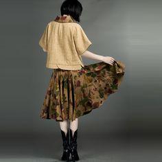 Woolen And Gauze Inset Tops Yellow - $192 - SKU: 836115 - Buy Now: http://elegente.com/nzx.html #ChineseladyQipao #Qipao #Cheongsam