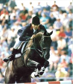 Olympics - 1988 Gallery | FEI History Hub - Pierre Durand and Jappeloup winning France's 4th individual Jumping Gold since 1912