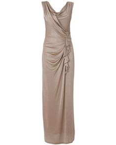 db960bf7 Women's Gold Victoriana Maxi Dress Leavers Ball Dresses, Peacock Colors,  Phase Eight, Party