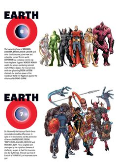 Earth-6 and Earth-7