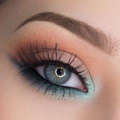 21 St Patricks Day Makeup Looks - Make up augen - Eye Makeup Cute Makeup, Gorgeous Makeup, Makeup Geek, Skin Makeup, Makeup Inspo, Eyeshadow Makeup, Makeup Inspiration, Makeup Ideas, Awesome Makeup