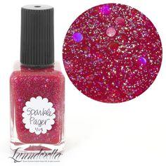 Lynnderella Limited Edition Nail Polish—Sparkle Pager—#12/15 #Lynnderella