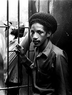 AUGUSTUS PABLO with DENNIS BROWN drinking in the background, Kingston, 1976...