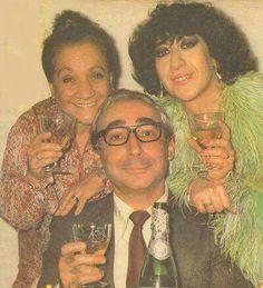 Adile Naşit, Şener Şen & Ayşen Gruda. Good old times.