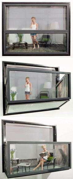Fold-out Balcony