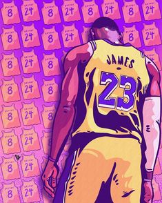 This Lebron James print is free for all who love and want to remember Kobe in a unique way. Use for your cell phone wallpaper, desk top screen saver, or print for your own poster. Lakers Wallpaper, Basketball Photography, Nba Wallpapers, Magic Johnson, Nba Stars, Nba Players, King James, Los Angeles Lakers, Kobe Bryant