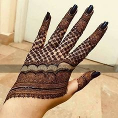 Trendy and stunning 140 finger mehndi designs for 2020 brides! Trendy and stunning 140 finger mehndi designs for 2020 brides!,mehendi Trendy and stunning 140 finger mehndi designs for 2020 brides! Henna Hand Designs, Mehndi Designs Finger, Mehndi Designs Book, Stylish Mehndi Designs, Mehndi Designs For Beginners, Mehndi Designs For Girls, Mehndi Design Photos, Mehndi Designs 2018, Mehndi Designs For Fingers