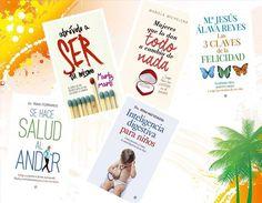 """¿Libros recomendados para reactivar y reforzar el cuerpo y la mente?. En la imagen. """"Mujeres que lo dan todo a cambio de nada"""" (Mariela Michelena) """"Atrévete a ser tu mismo"""" (Marta Martí) """"Inteligencia digestiva para niños"""" (Irina Matveikova) """"Las tres claves de la felicidad"""" (Mª Jesús Álava) """"Se hace salud al andar"""" (Iñaki Ferrando)"""