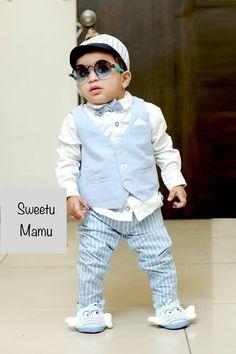 Stylish Baby Boy, Stylish Kids, Fashion 2020, Kids Fashion, Kids Wear Boys, Baby Boy Dress, Beautiful Children, Boy Outfits, Designer Dresses