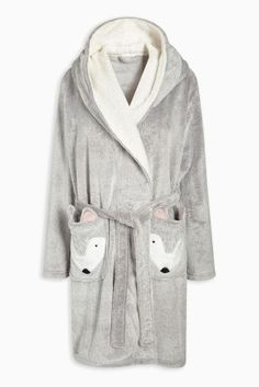 Buy Grey Fox Novelty Robe from the Next UK online shop