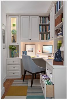 Dreamy and Teeny: 13 Impromptu Office Spaces