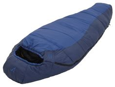 "The Blue Springs series sleeping bags are made with MicroX+ insulation. MicroX+ Insulation consists of multiple denier staple-length fibers that have a siliconized finish for maximum insulation, loft and compactness. It is an ultra lightweight insulation that has a tremendous weight-to-warmth ratio. The Blue Springs uses a 2-layer offset construction, sometimes called a ""bag within a bag."" The contoured hood and mummy shape helps seal up your warmth and keep you warmer. If you choo..."