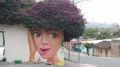 Au Nicaragua 3d Street Art, Murals Street Art, Amazing Street Art, Street Art Graffiti, Amazing Art, Street Artists, Portraits, Portrait Art, Chalk Art