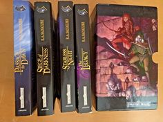 Forgotten Realms - Legacy of the Drow 4pe Series - R.A. Salvatore