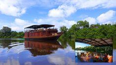 Perahu Susur Sungai Rahai Pangun