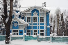 gingerbread house    tomsk