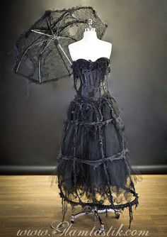 O neill black dress zombie