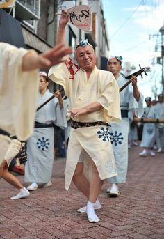 awaodori street parade