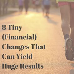 Tiny Changes That Can Yield Huge Results! Great ideas that take just a moment of your time!