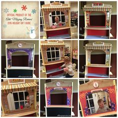 """@ahh-mazingReviews Holiday Guft Guide: 4-in-1 Play Theater from One Step Ahead.  """"Changing the theme is simple and easy enough for an older child – I would say 5 years and up – to do on their own.  The construction of this toy is amazing.  It is extremely sturdy and well-made and I am super impressed…"""""""