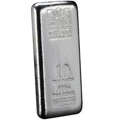 10 oz RMC Cast Silver Bars from  JM Bullion™