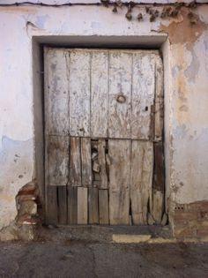 Doorway in Granada, Spain.