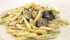 Strozzapreti Pasta Vera con pesto, gamberetti e vongole!    By Marisa Malomo    http://blog.giallozafferano.it/loti64/pasta-pesto-gamberetti-e-vongole/    www.pastavera.it    https://www.facebook.com/Pastavera