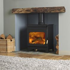 Living Room Ideas With Fireplace Interior Design Log Burner 39 Trendy Ideas Wood Burner Fireplace, Old Fireplace, Fireplace Ideas, Log Burner Living Room, New Living Room, Style At Home, Freestanding Fireplace, Living Room Inspiration, Family Room