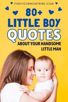 Looking for little boy quotes for your handsome little fella? Here's a collection of downright adorable quotes on little boy personalities. #best #Little #baby #Boy #Quotes #captions #mother #father #son #newborn #sonquotes #bestsonquotes #soncaptions #babyboyquotes #cute Little Boy Quotes, Cute Baby Quotes, Adorable Quotes, Baby Girl Quotes, Son Quotes, Daughter Quotes, Newborn Baby Quotes, Baby Captions, Father And Baby