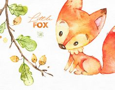 This Cute Little Fox set is just what you needed for the perfect invitations, craft projects, paper products, party decorations, printable, greetings cards, posters, stationery, scrapbooking, stickers, t-shirts, baby clothes, web designs and much more.  :::::: DETAILS ::::::  This collection includes - 38 Images in separate PNG files, transparent background, different size approx.: 12-2in (3600-600px)  300 dpi RGB  ::::: TERMS OF USE :::::  ► Personal or non-profit  You can use our artworks…