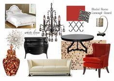 Model Home Design Concept Board Interior Design Idea In Miami FL