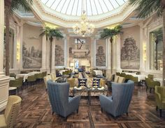Palm Court at The Balmoral: Afternoon Tea at Balmoral Hotel - See 562 traveler reviews, 121 candid photos, and great deals for Edinburgh, UK, at TripAdvisor.