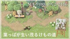 Animal Crossing Wild World, Animal Crossing Villagers, Animal Crossing Qr Codes Clothes, Animal Crossing Game, Motif Acnl, Brick Path, Path Design, Motifs Animal, Pattern Code