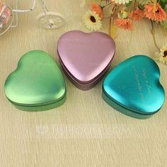Persoonlijke Bedankjes - $13.99 - Persoonlijke Heart Shaped Metaal Voordeel tin (Set van 24) (118031767) http://jjshouse.com/nl/Persoonlijke-Heart-Shaped-Metaal-Voordeel-Tin-Set-Van-24-118031767-g31767